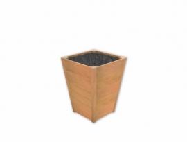 Hardhouten plantenbak 550x550x740