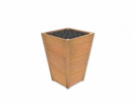 Hardhouten plantenbak 700x700x980