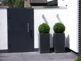 Polyester plantenbak 400 x 400 x 1200 mm