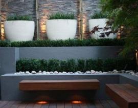 Polyester plantenbak Ø 800x1000