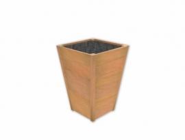 Hardhouten plantenbak 600x600x860