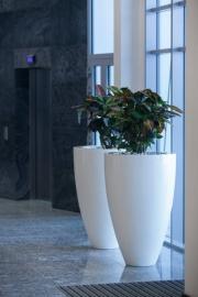 Polyester plantenbak Ø 500x900