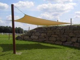 Schaduwdoek rechthoek 350 x 500