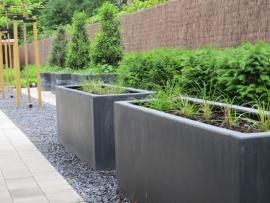 Polyester plantenbak 1500 x 500 x 500 mm
