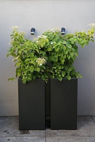 Polyester plantenbak 500 x 500 x 1000 mm