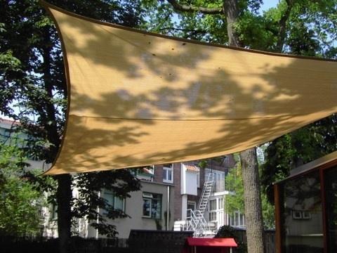 Schaduwdoek vierkant waterproof 500 x 500