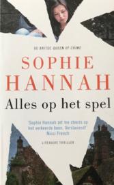 Hannah, Sophie  -  Alles op het spel