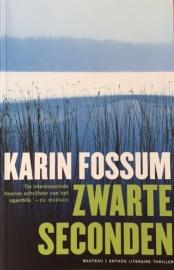 Fossum, Karin  -  Zwarte seconden