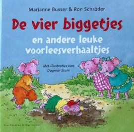 Busser, Marianne / Schröder, Ron  -  De vier biggetjes