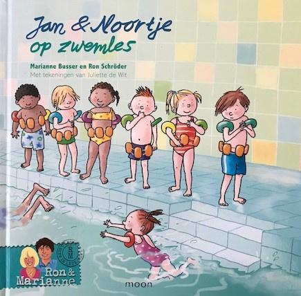 Busser, Marianne  -  Schröder, Ron  -  Jan & Noortje op zwemles