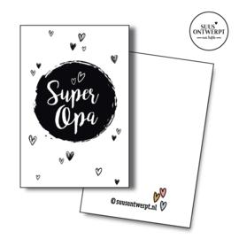 Minikaartje Super opa