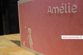 Letterpress geboortekaartje