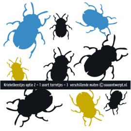 Muurstickers - Kriebelbeestjes 2
