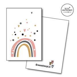 Minikaartje Regenboog