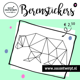 Berensticker geometrisch