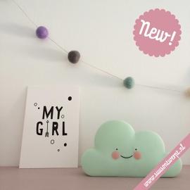 Ansichtkaart - Mini-poster My Girl
