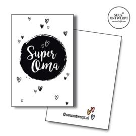Minikaartje Super oma