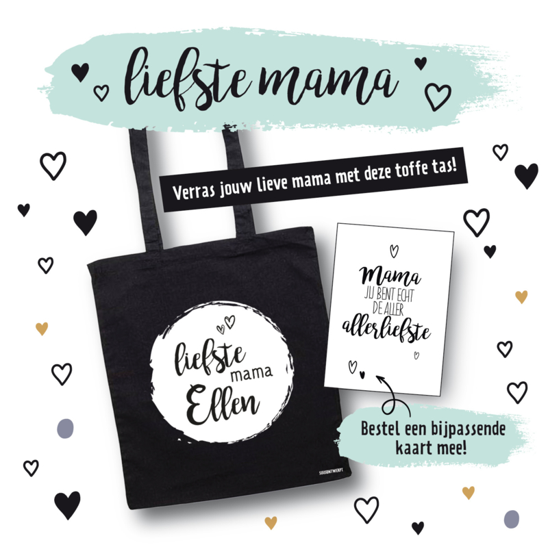 Tas met naam - Liefste mama