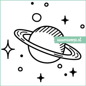Muursticker - Planeten