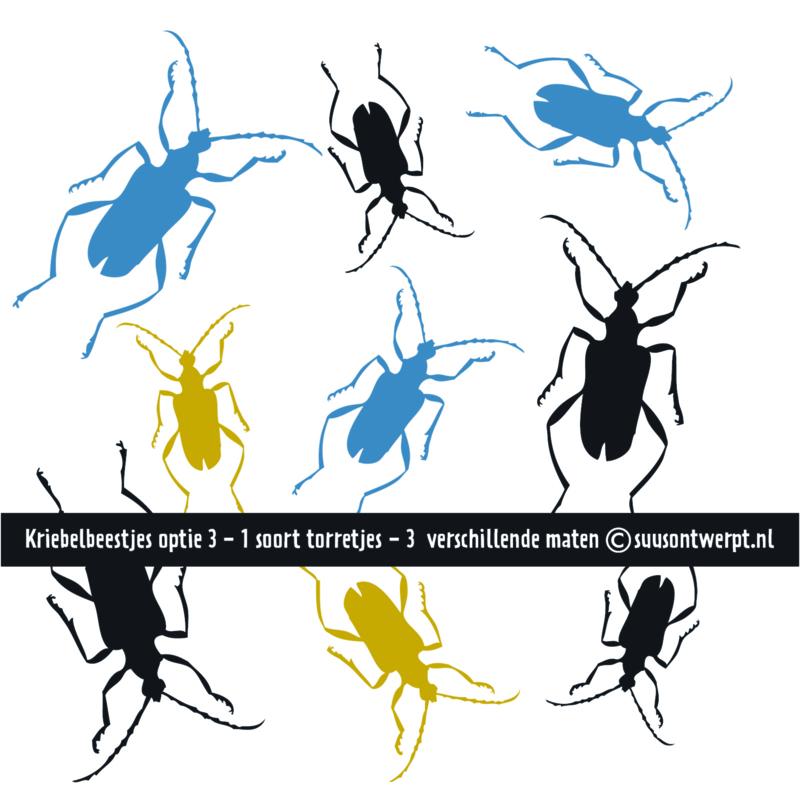 Muurstickers - Kriebelbeestjes 3
