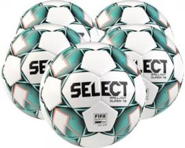 Brillant Super Tb 5X Ballenpakket - Wit / Groen