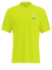 Padl Extreme polo ocean blue/fluo yellow
