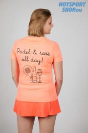 T-shirt Padel & rosé all day