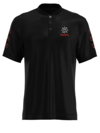 Padl Extreme polo red/black