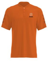 Padl Extreme polo black/orange
