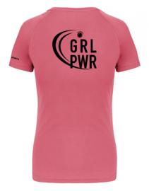 T-shirt Girl Power roos