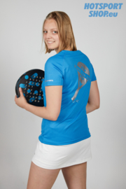 T-shirt Padel my life is padel blauw