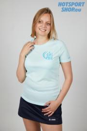 T-shirt Girl Power blauw