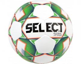 Futsal Attack (Grain) Voetbal - Wit / Groen / Fluo Oranje