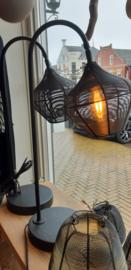 Stoere bureau/ lees lamp