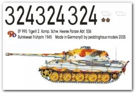 EP 0995 Tiger II 2. Komp. schw. Heeres Pz Abt. 506