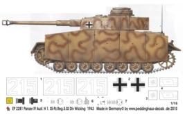 EP 2281 Panzer IV Ausf. H Wicking 1943