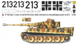 EP 1864 Tiger I s. Pz. Abt 502 Otto Cariuss