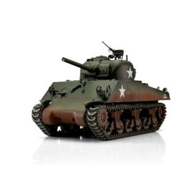 1/16 RC M4A3 Sherman 75mm green IR Servo