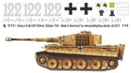 EP 0975 Tiger I 1. Komp. schw. Heeres Pz Abt 509