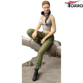 1/16 IDF Female Tank Soldier 2