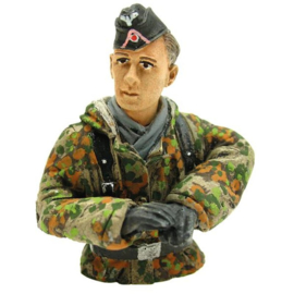 1/16 Figure Tank Driver Summer Camouflage Half Figure