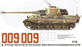 EP 1814 Tiger II 3./s.SS Pz. Abt 501 Oscha Paul Semetz