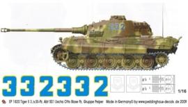 EP 1820 Tiger II 3/s.SS Pz. Abt 501 Uscha Otto Blase