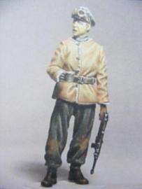 Duitse officier ardennen 1944 schaal 1:35
