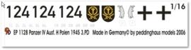 EP 1128 Panzer IV Ausf H Polen 1945