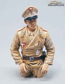1/16 Figure Commander German Tank DAK