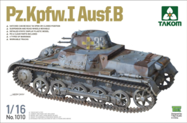 Takom: Pz.Kpfw.I Ausf.B in 1:16