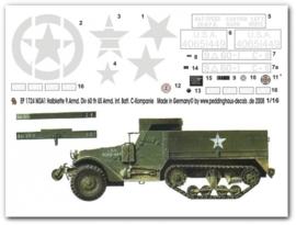 EP 1724 M3 A1 Halftrack der 9.Armd.Div. 60th Inf.Div