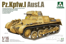 Takom: Pz.Kpfw.I Ausf.A in 1:16 [3461008]