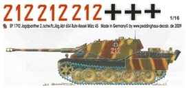 EP 1792 Jagdpanther 2.schw.Pz.Jaeg. Abt 654 Ruhr Kessel 1945
